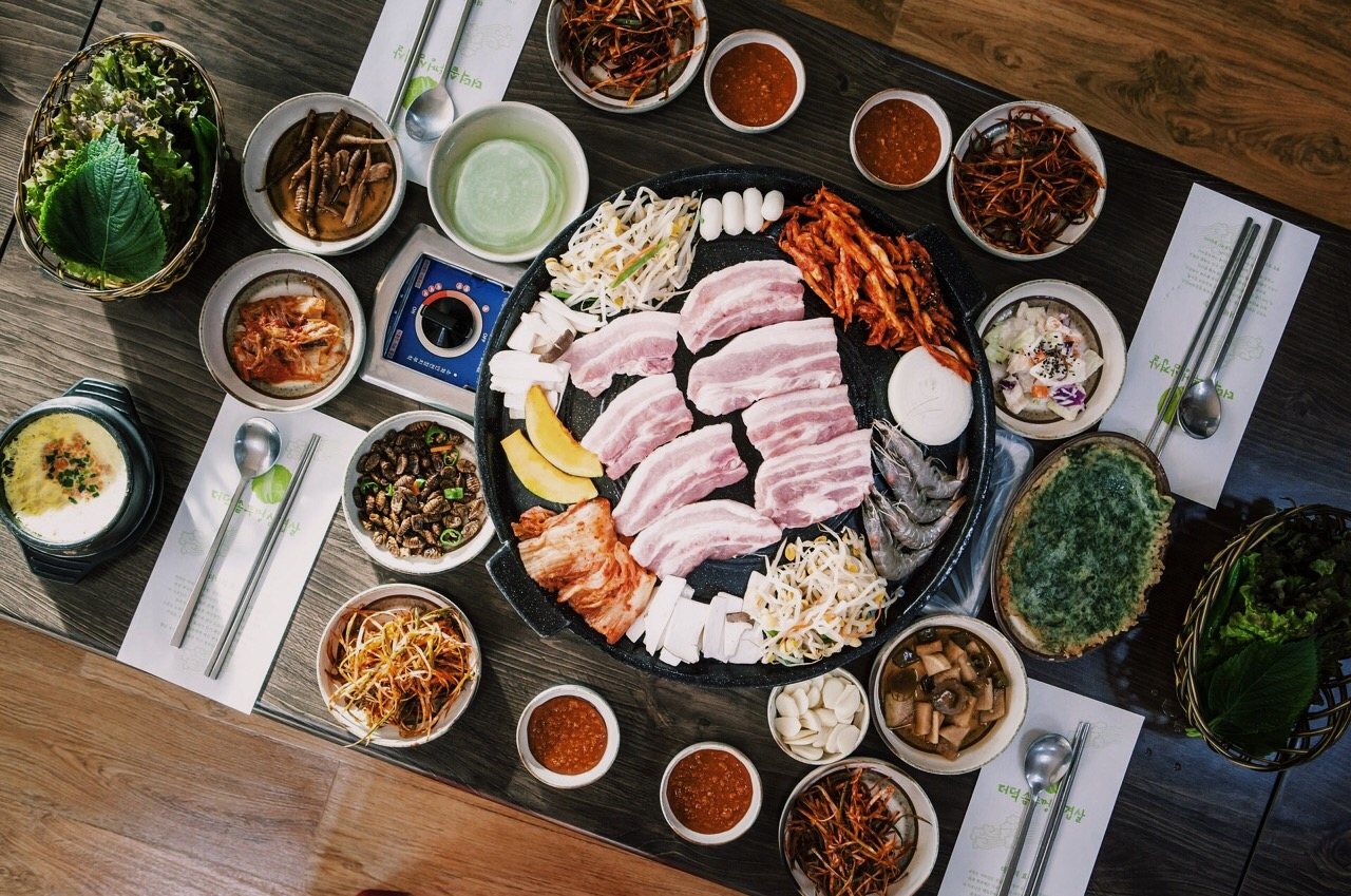 korean food barbecue