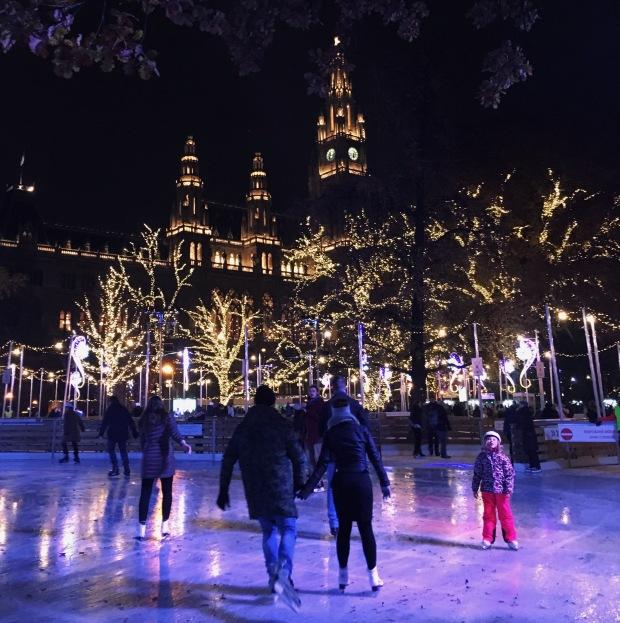 picture of vienna rathausplatz