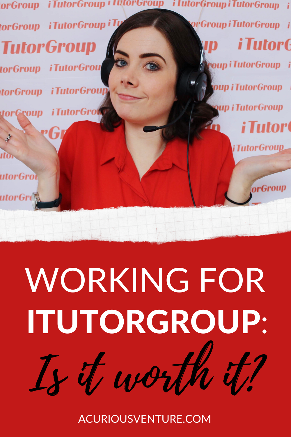 Working for iTutorGroup: Is it worth it?