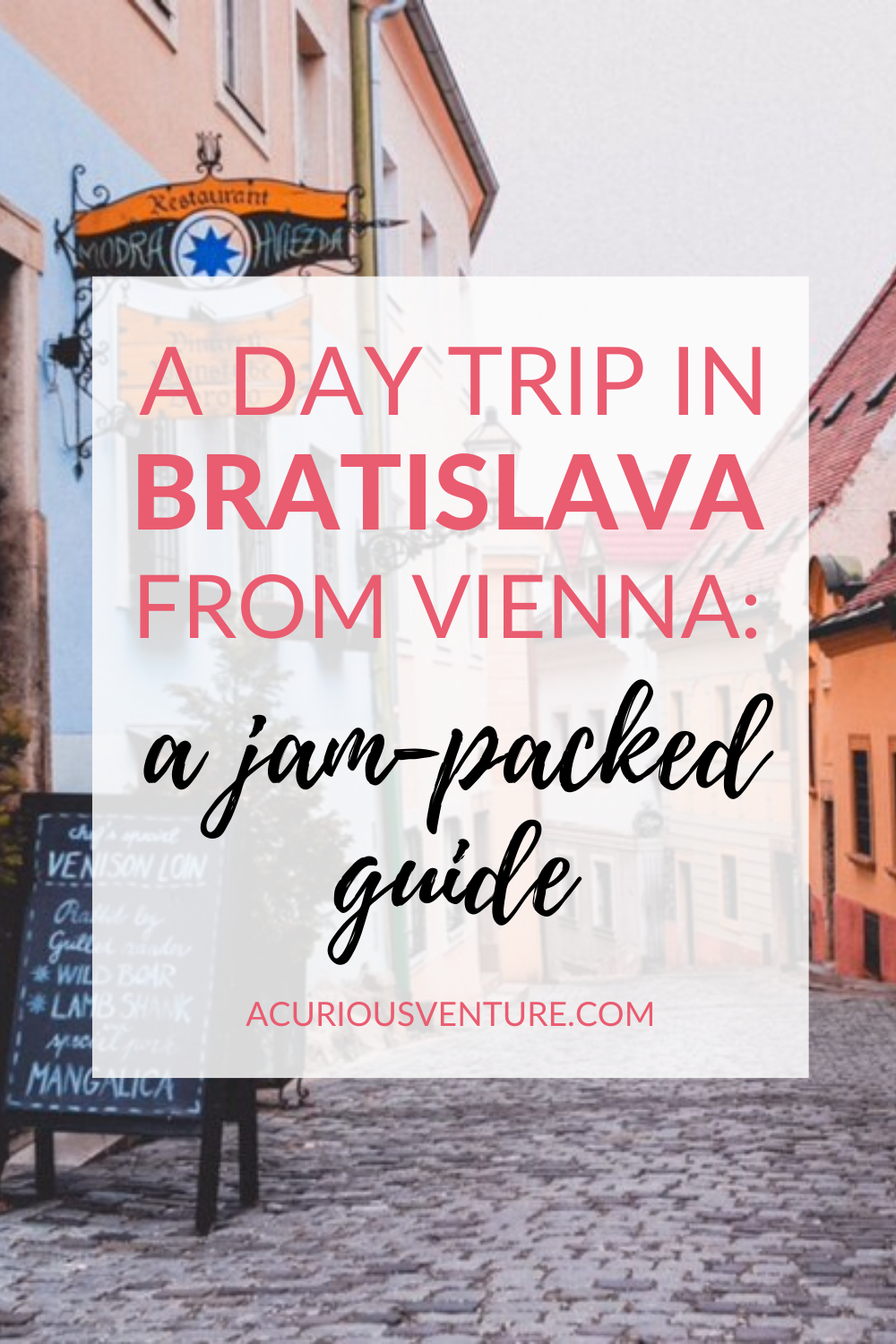A Day Trip In Bratislava From Vienna Guide
