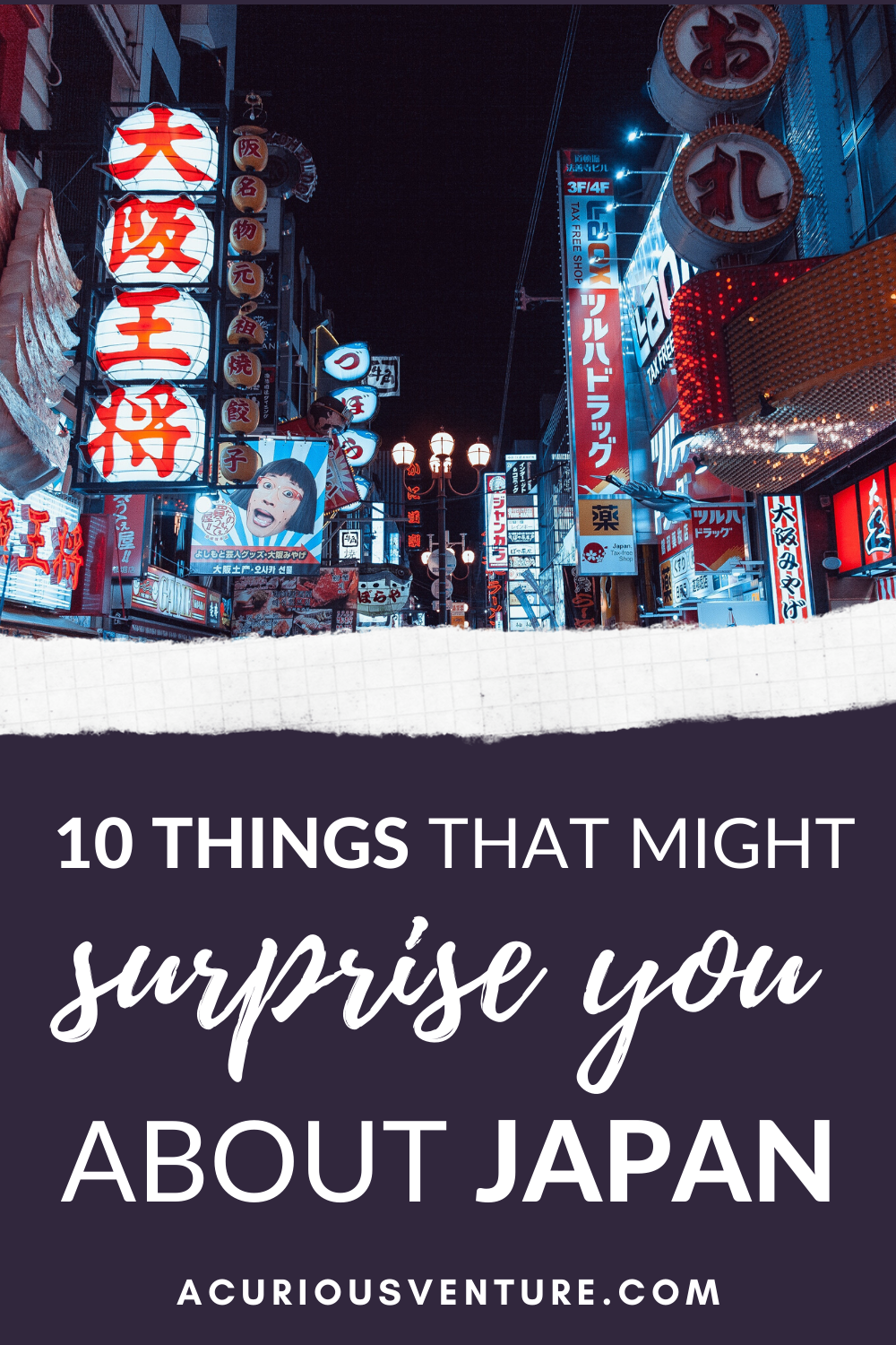 10 Things That Might Surprise You About Japan