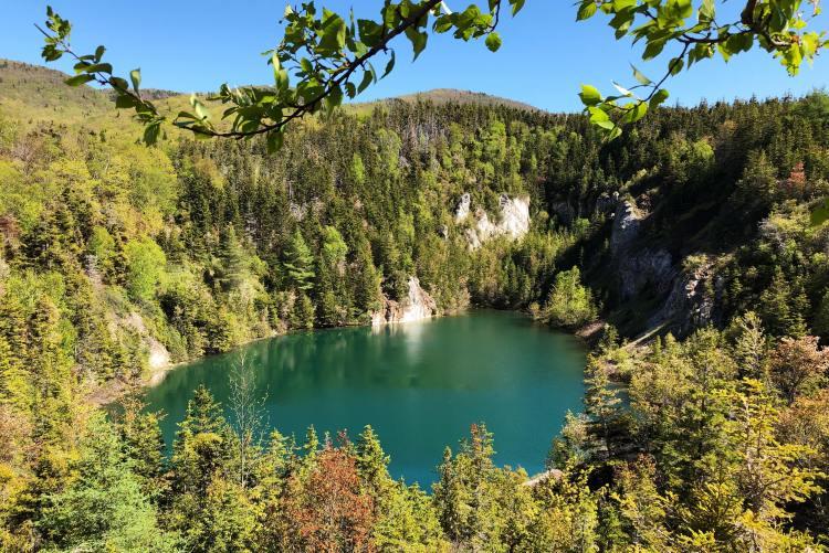 gypsum mines cabot trail
